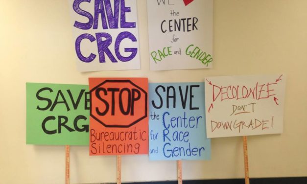 Words from the CRG Student Advisory Committee