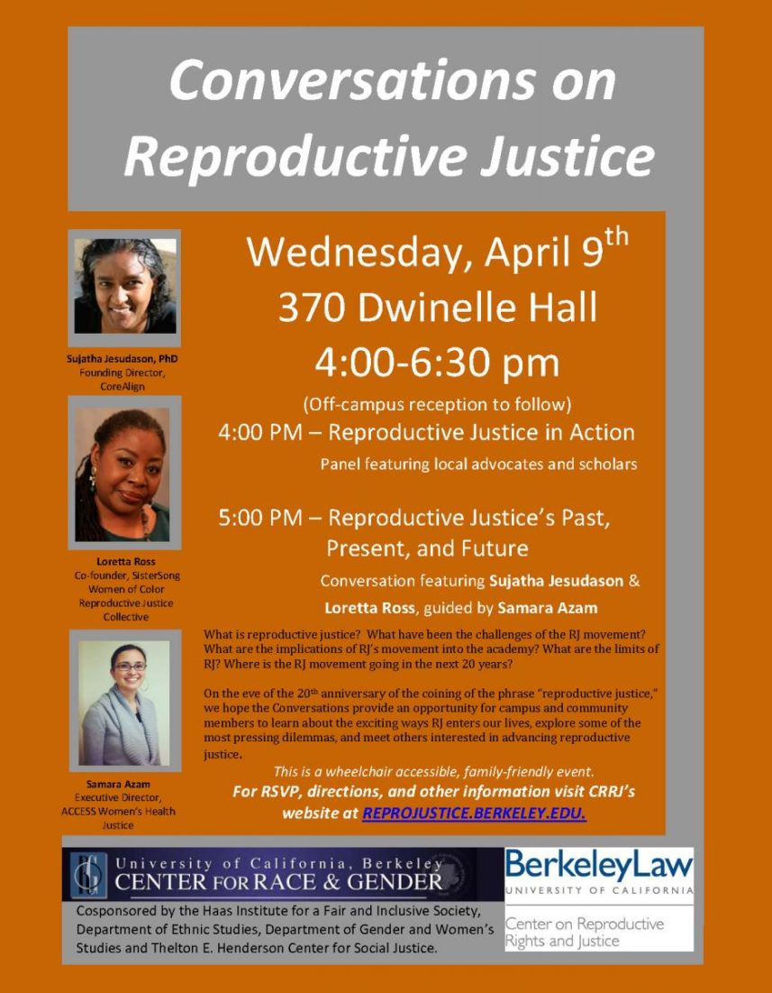Conversations on Reproductive Justice