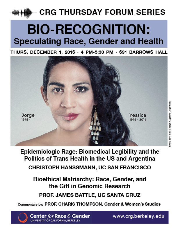 Bio-Recognition: Speculating Race, Gender, and Health