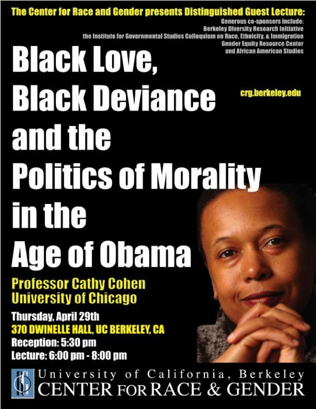 Black Love, Black Deviance and the Politics of Morality in the Age of Obama