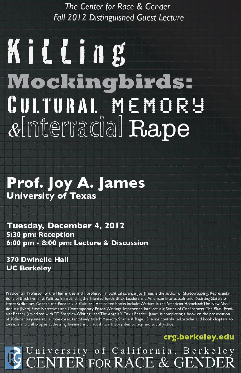 Killing Mockingbirds: Cultural Memory and Interracial Rape