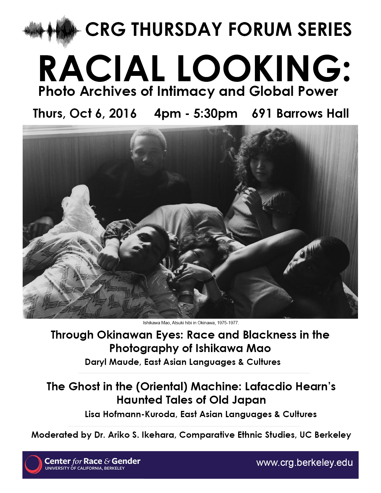 Racial Looking: Photo Archives of Intimacy, Orientalism, & Global Power