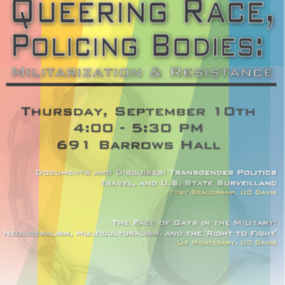 Queering Race, Policing Bodies