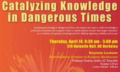 Catalyzing Knowledge in Dangerous Times