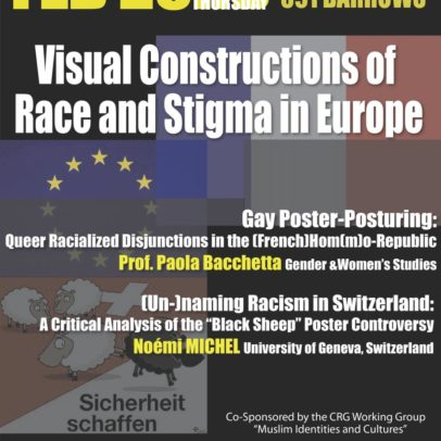 Visual Constructions of Race and Stigma in Europe