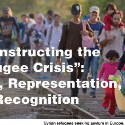 "Deconstructing the ""Refugee Crisis"": Race, Representation, & Recognition"