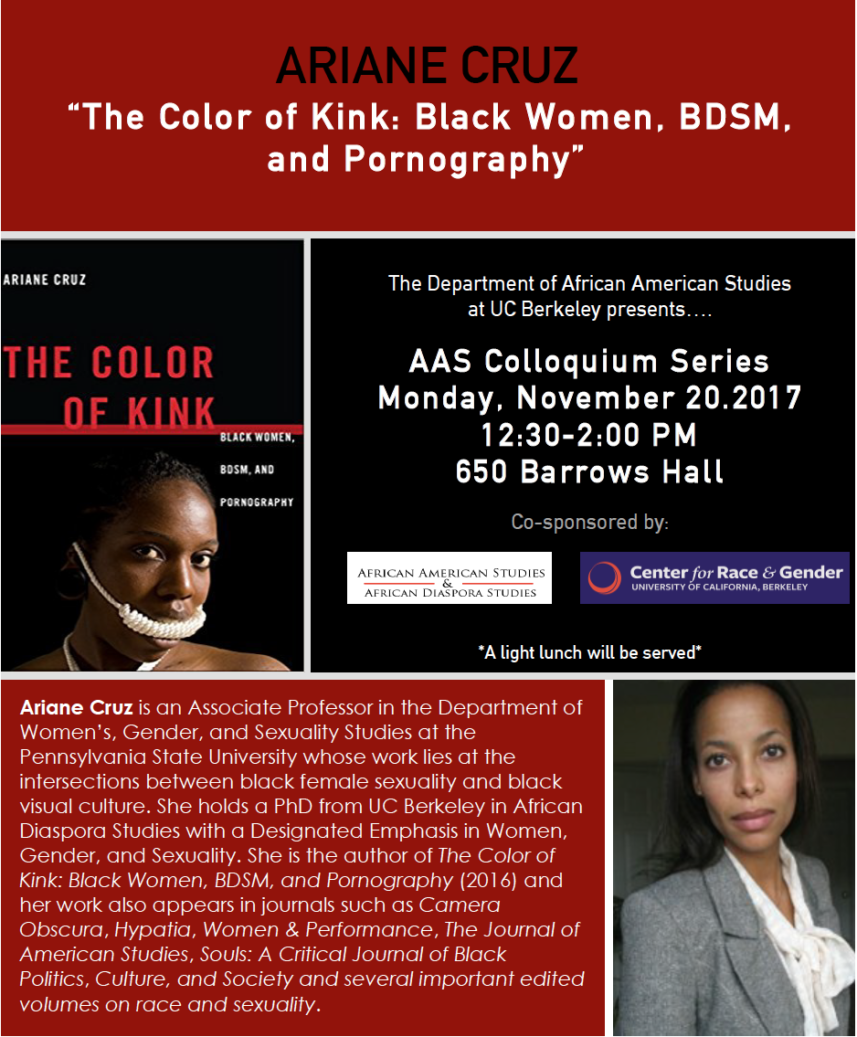 The Color of Kink: Black Women, BDSM, and Pornography