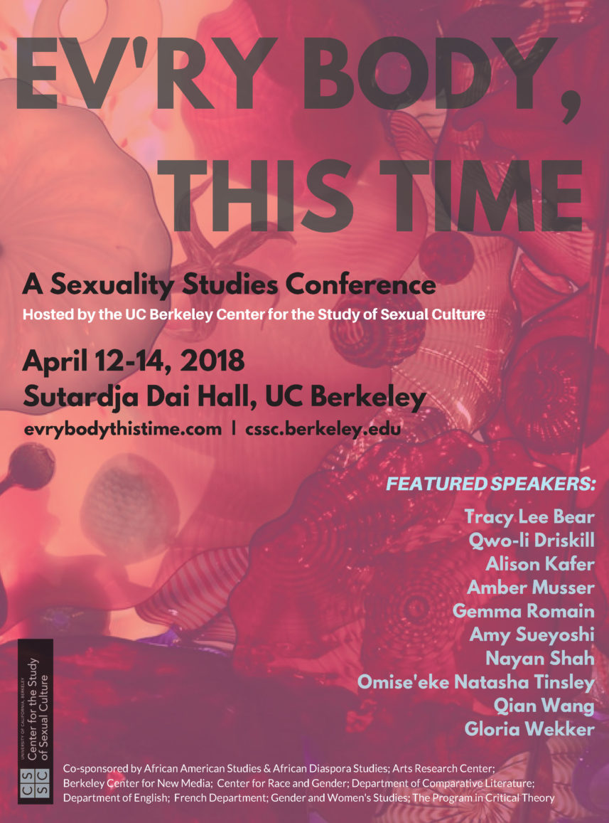 Ev'ry Body, This Time: A Sexuality Studies Conference