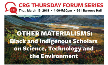 Other Materialisms: Black and Indigenous Scholars on Science, Technology and the Environment