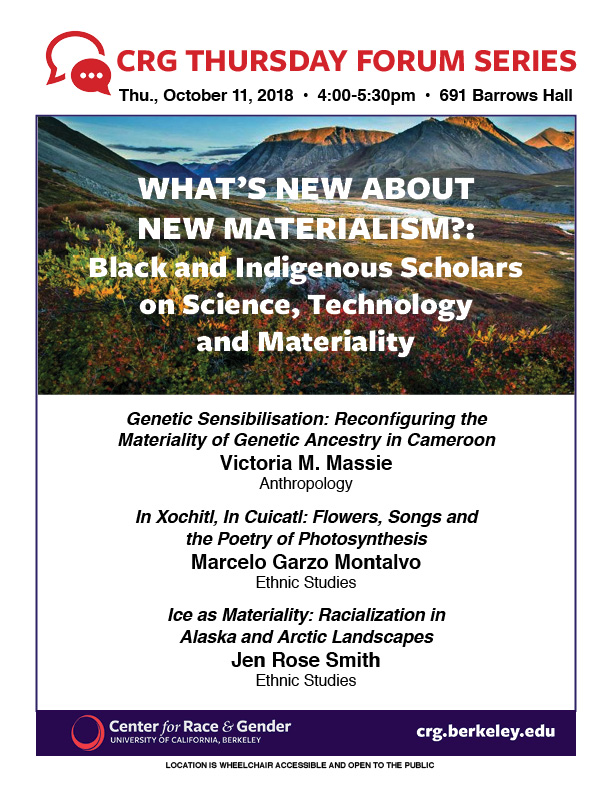 What's New about New Materialism?: Black and Indigenous Scholars on Science, Technology and Materiality