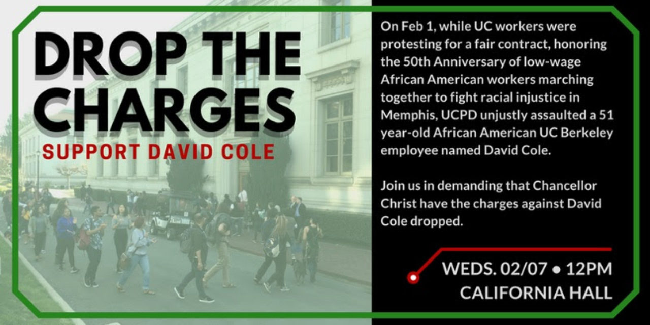 Drop the Charges: Support David Cole