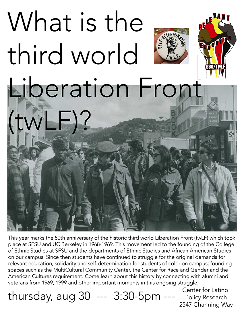 What is the third world Liberation Front (twLF)?
