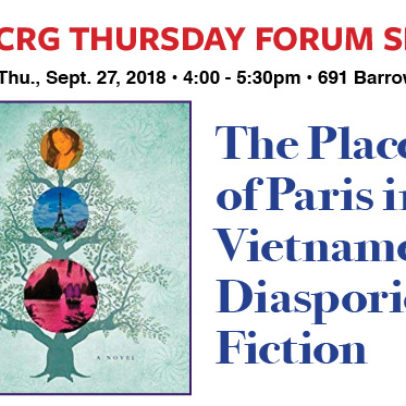 The Place of Paris in Vietnamese Diasporic Fiction