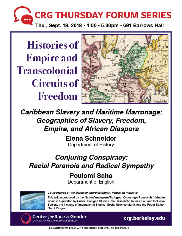 Histories of Empire and Transcolonial  Circuits of Freedom