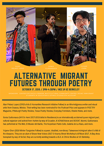 Alternative Migrant Futures Through Poetry