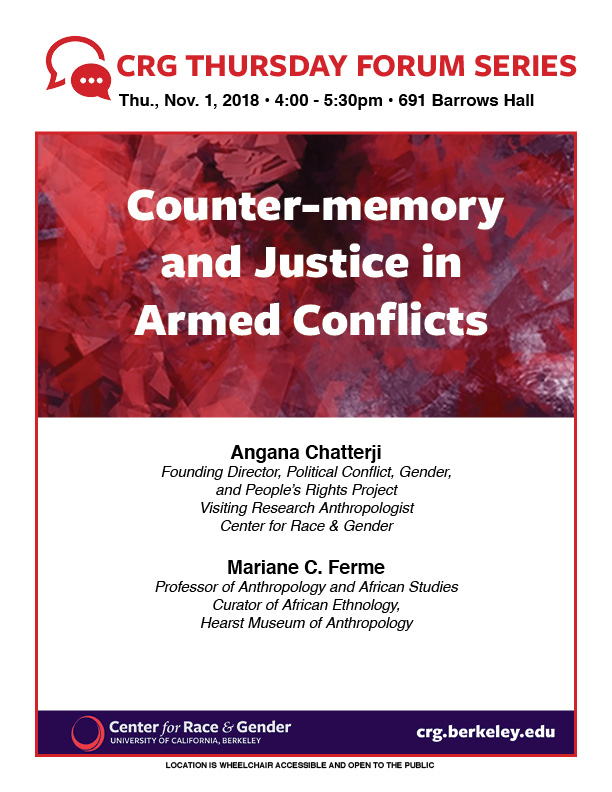 Counter-memory and Justice in Armed Conflicts