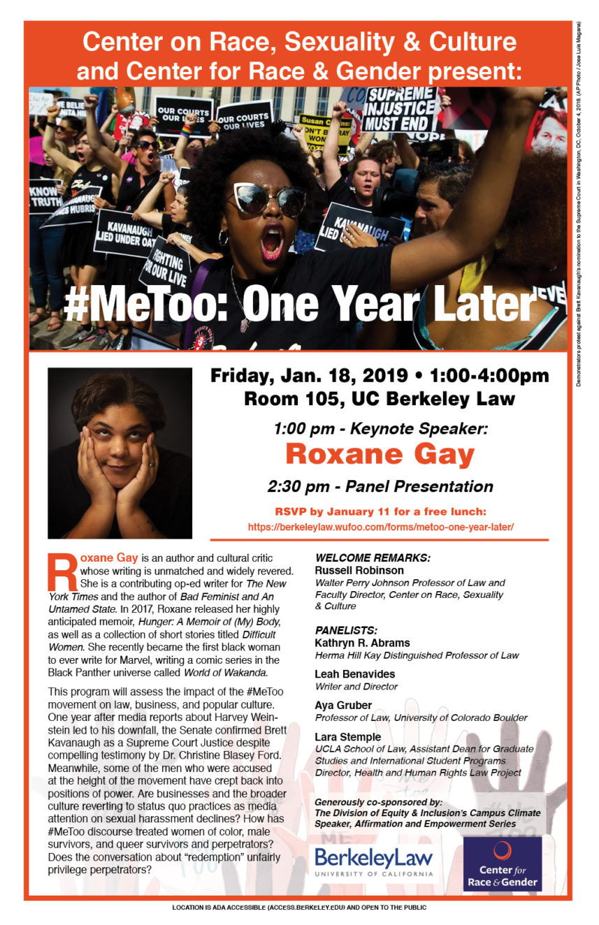 #MeToo: One Year Later