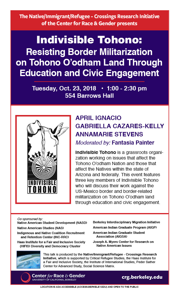 Indivisible Tohono: Resisting Border Militarization on Tohono O'odham Land Through Education and Civic Engagement