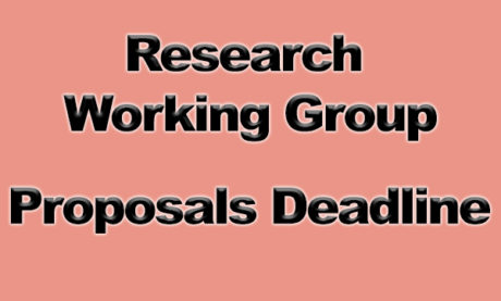 CRG's 2019-2020 Research Working Group Proposals Deadline