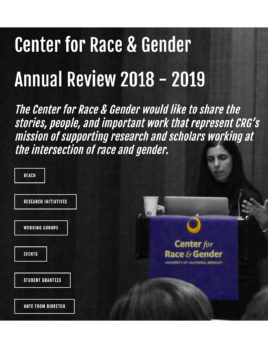 CRG Annual Review 2018-2019