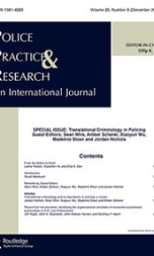 On creating ethical, productive, and durable action research partnerships with police officers and their departments: A case study of the National Justice Database