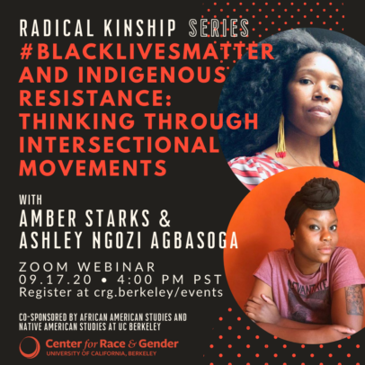 #BlackLivesMatter and Indigenous Resistance: Thinking Through Intersectional Movements