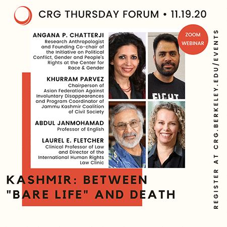 "Postponed – Kashmir: Between ""Bare Life"" and Death"
