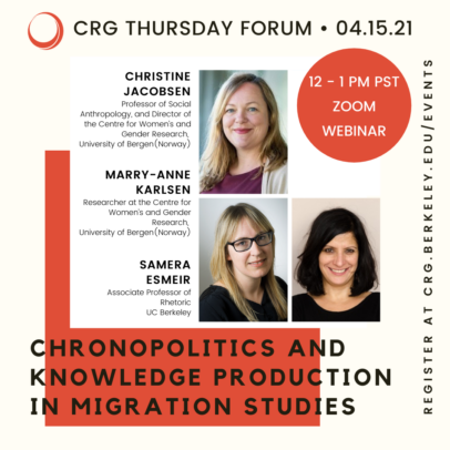 Chronopolitics and Knowledge Production in Migration Studies