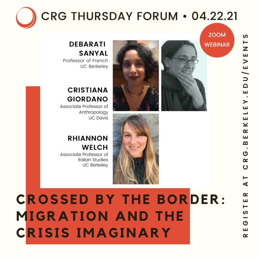 POSTPONED – Crossed by the Border: Migration and the Crisis Imaginary  Copy