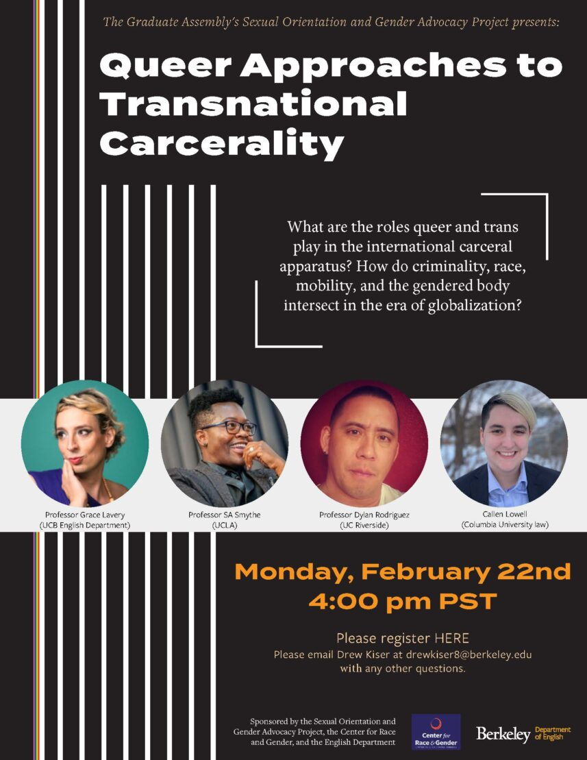 Queer Approaches to Transnational Carcerality