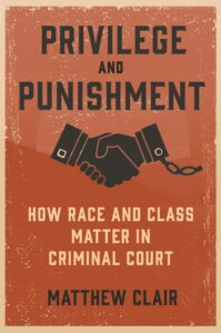 Book cover of Privilege and Punishment